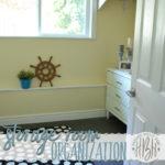 Finding Room to Breathe ( Storage Room Organization)