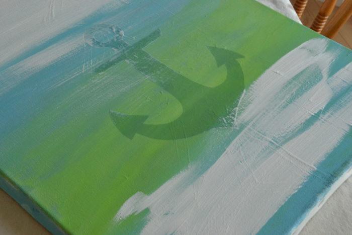Anchor Sign Tutorial + a free printable!