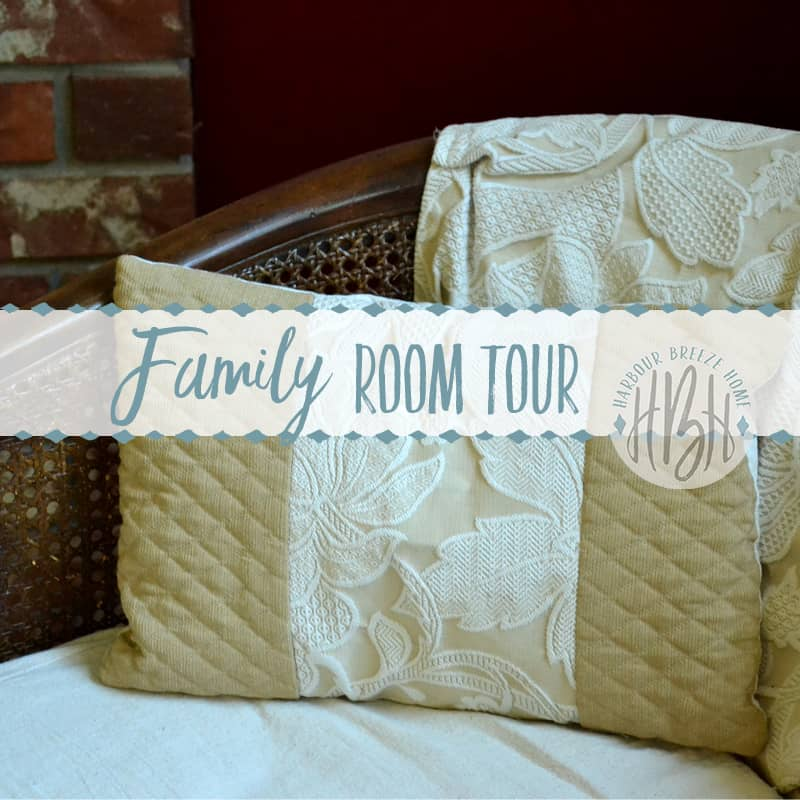 Rental House Tour ~ The Family Room