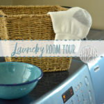 Rental House Tour: The Laundry Room