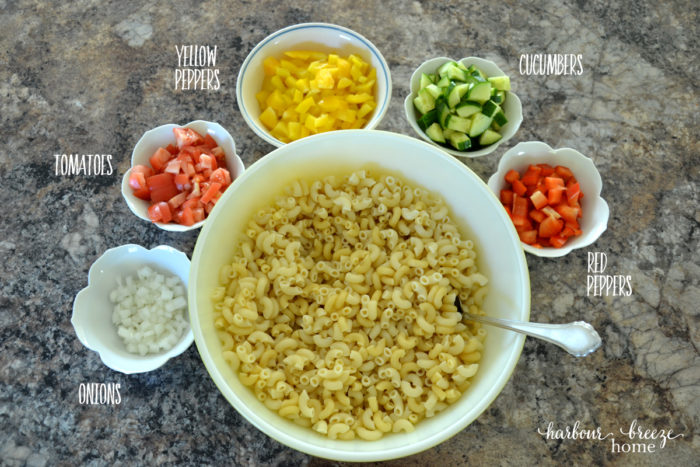 Macaroni Salad ~ a new twist on an old favorite!