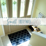 Rental House Tour: Small Entryway