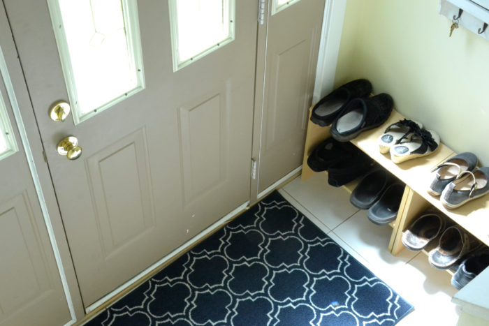 small entryway ps