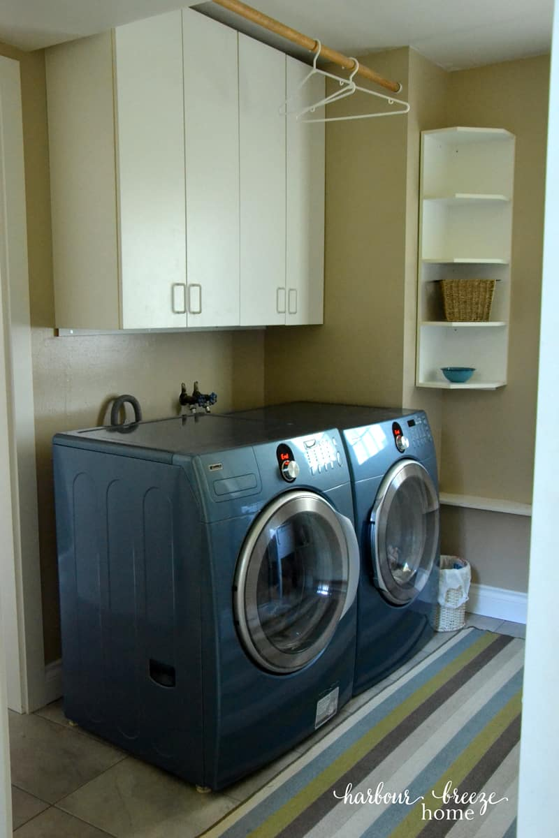 Laundry Room Tour ~ a practical layout filled with great organizational solutions