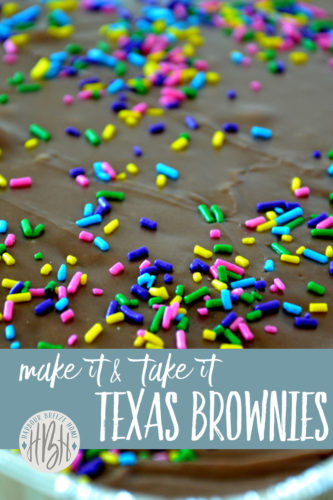 texas brownies