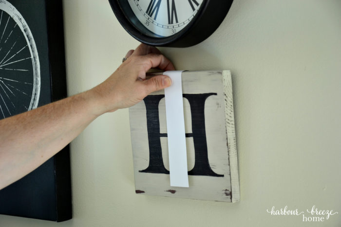 how to hang a picture on the wall