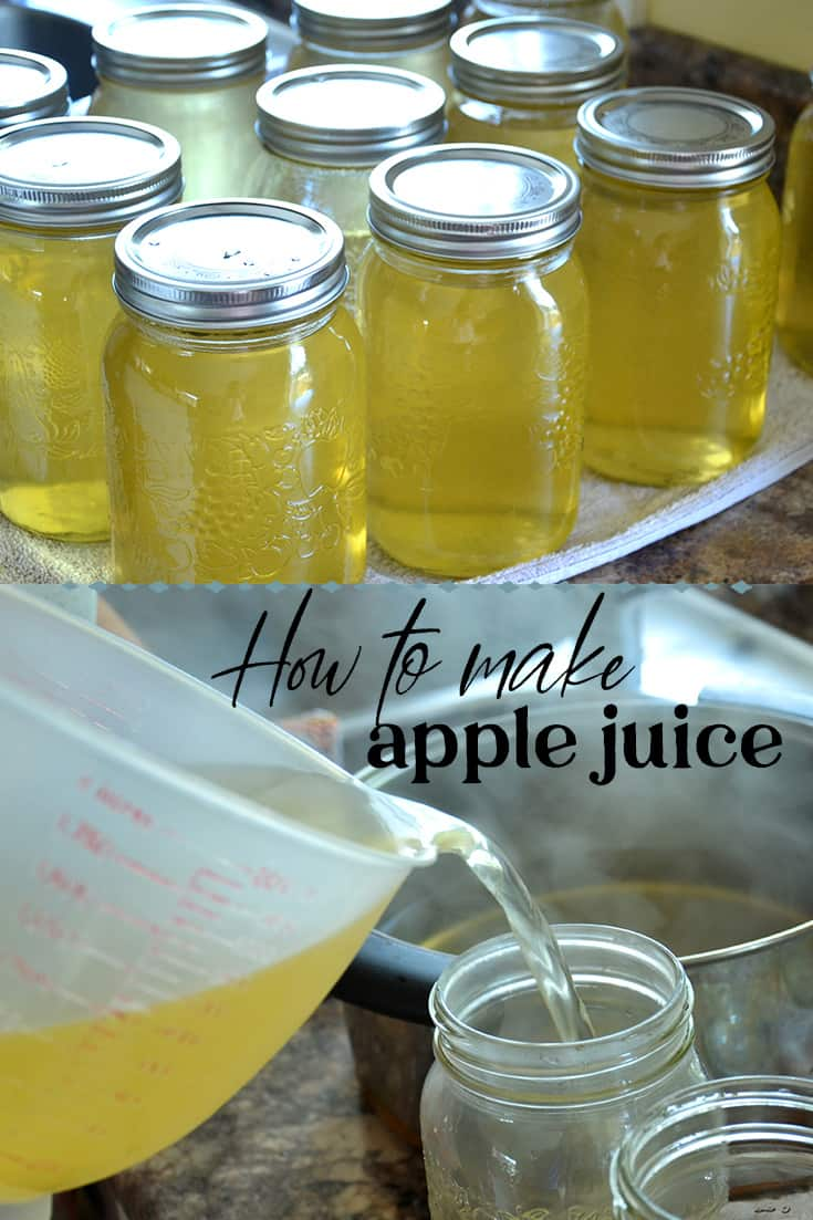 how to make apple juice