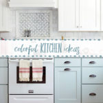 Small Kitchen Ideas: Colorful Combos