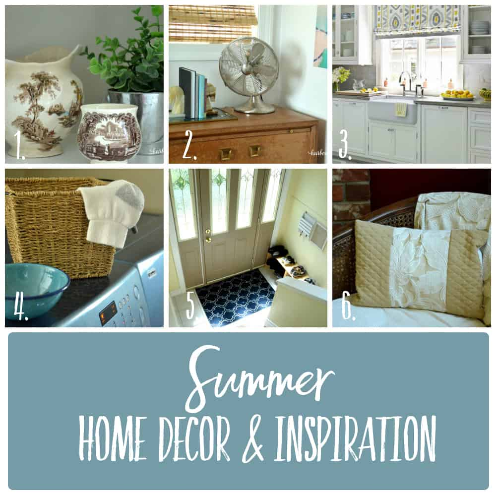 Summer Home Decor Recap ps