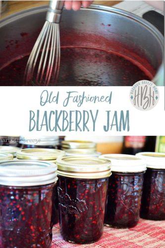 blackberry jam pinterest