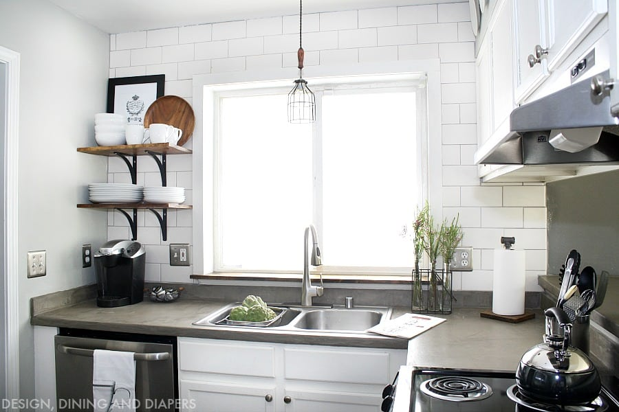 Small Kitchen Renovations On A Budget inspiration for small kitchens | harbour breeze home