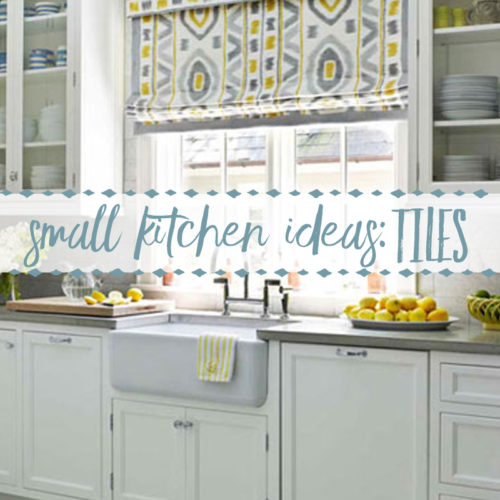 Inspiration for Small Kitchens ~ White Tile
