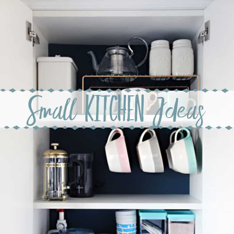 Small Kitchen Ideas~ Storage