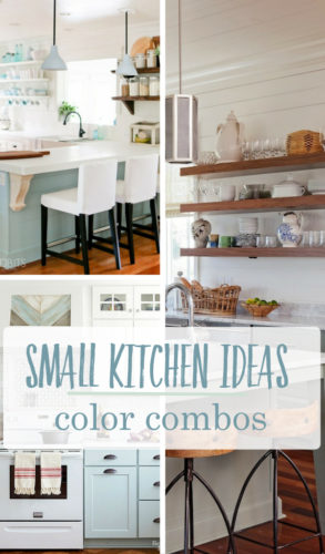 Paint Color combinations for small Kitchens