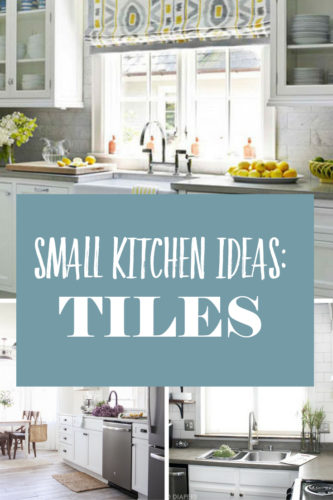Inspiration For Small Kitchens White Tile