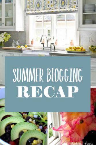 Summer Blogging Recap