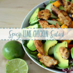 Spicy Lime Chicken Salad