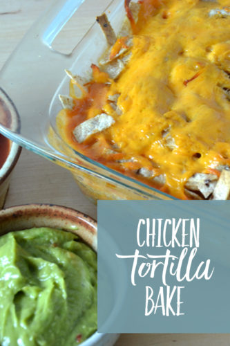 pinterest chicken tortilla bake