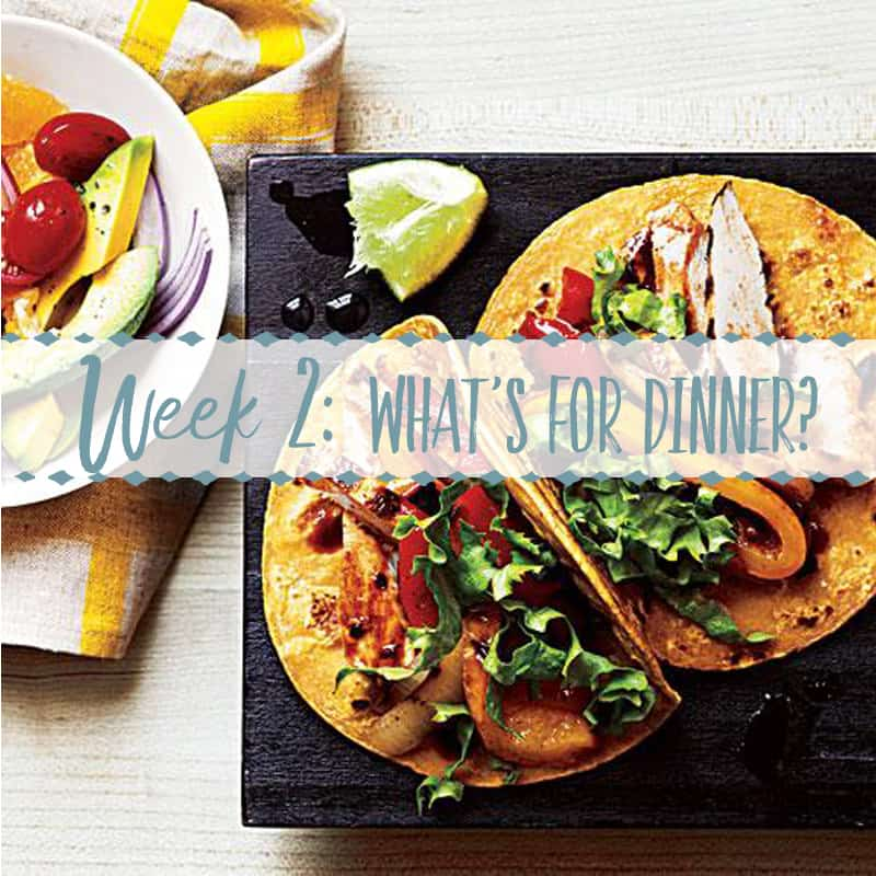 What's for Dinner This Week?