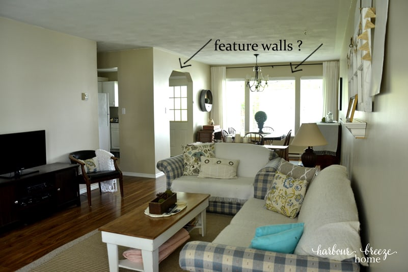 Dining Room Feature Walls Iron Mountain By Benjamin Moore