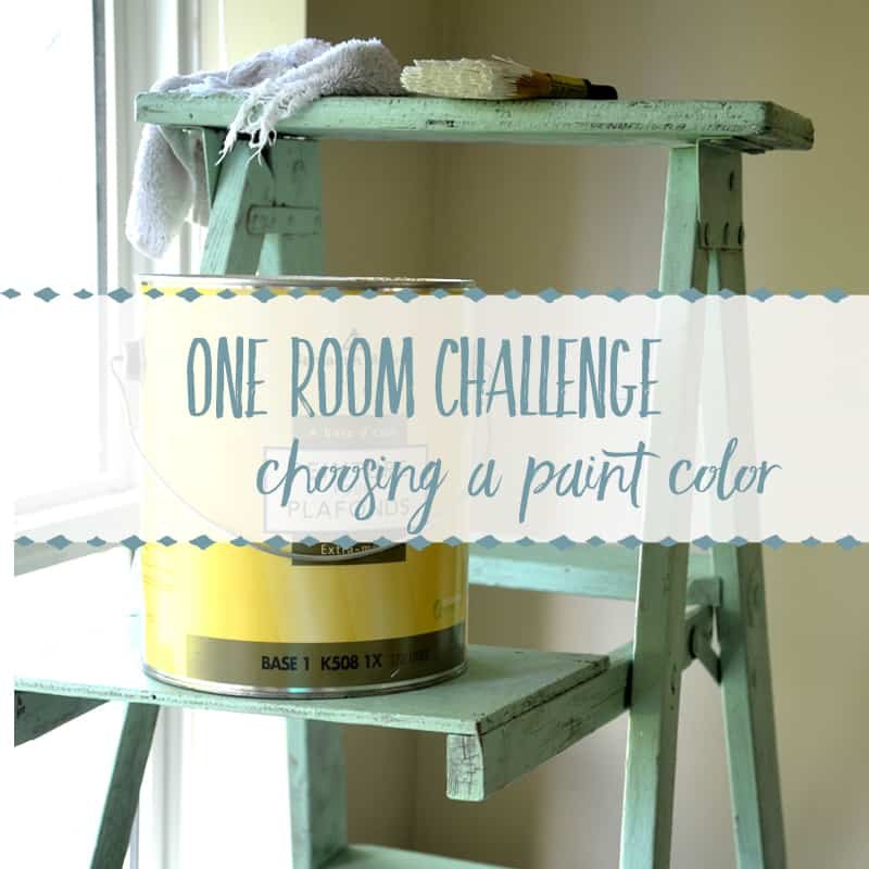 Choosing a Paint Color for a Small, Dark Space