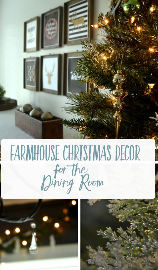 Christmas Dining Room Tour