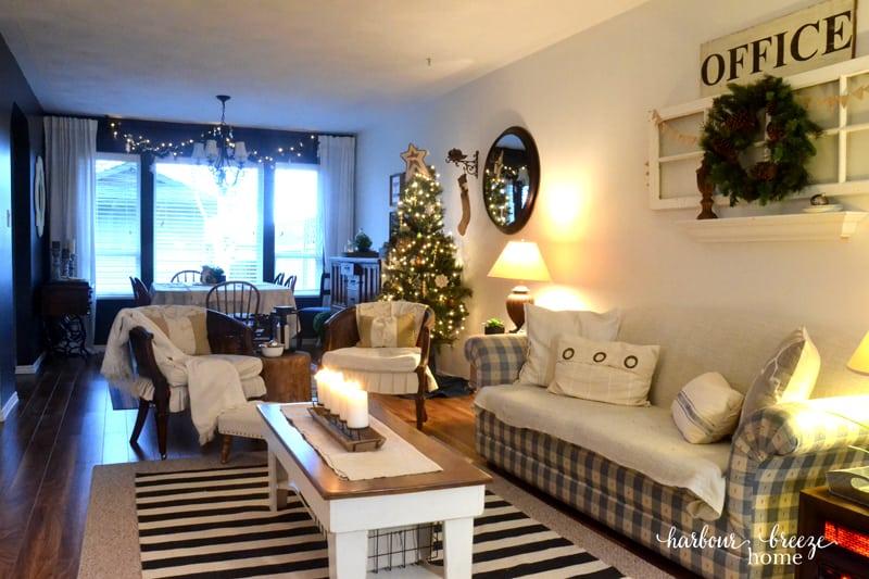 Christmas Living Room Tour