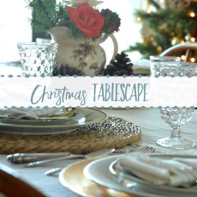If Dishes Could Talk (A Christmas Tablescape)