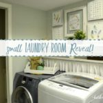 Small Laundry Room Reveal