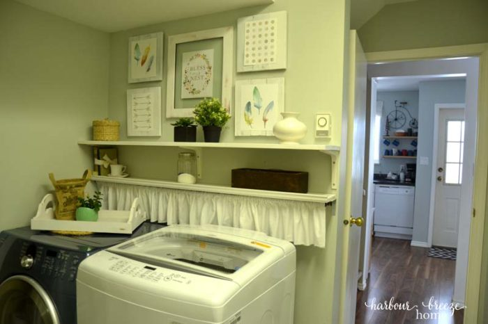 laundry and kitchen after ps