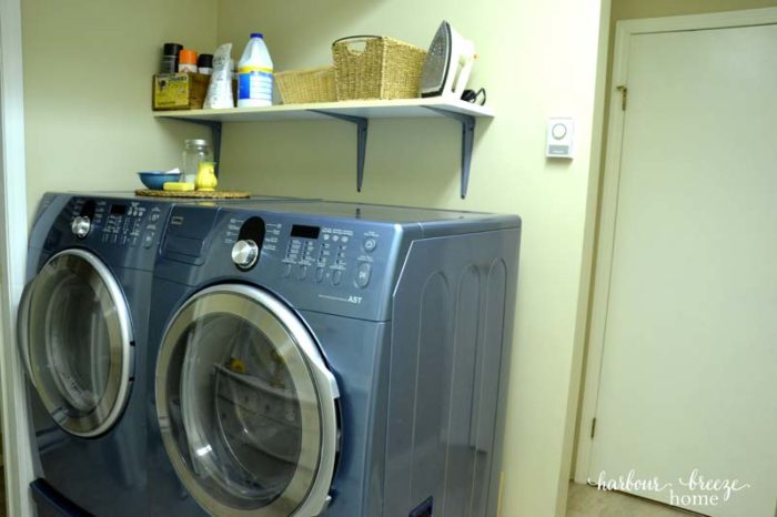 old washer before