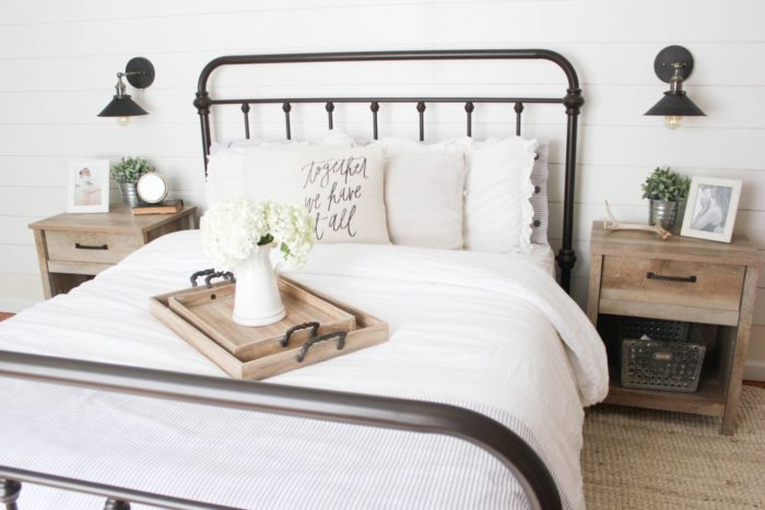 Genial Inspiration Pictures Are My Favorite Decor Teacher. Here Are 10 Of My  Inspirations For Beautiful Farmhouse Modern Bedrooms.