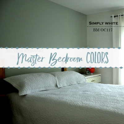 Silver Strand & Simply White Master Bedroom