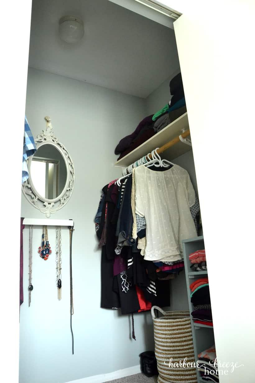 Walk in Closet Reveal