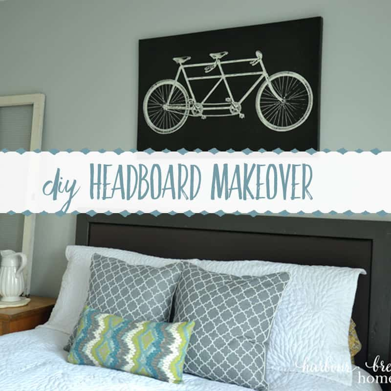 Upholstered Headboard Makeover