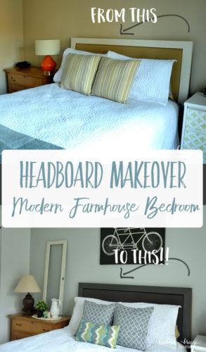 Upholstered Headboard Makeover
