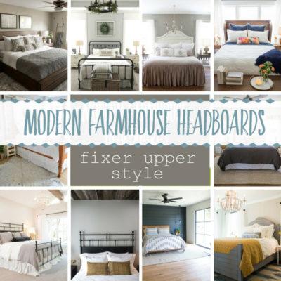 Modern Farmhouse Headboards