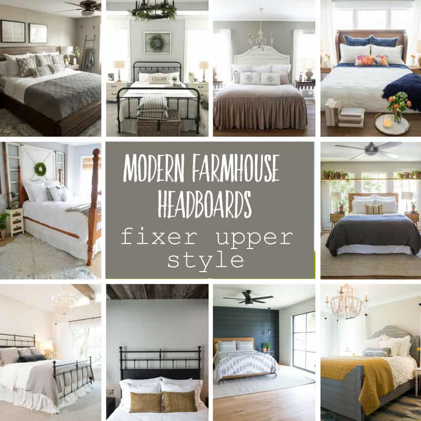 Modern Farmhouse Headboard Inspirations