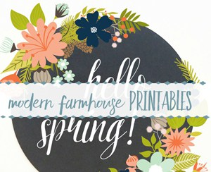Modern Farmhouse Printables