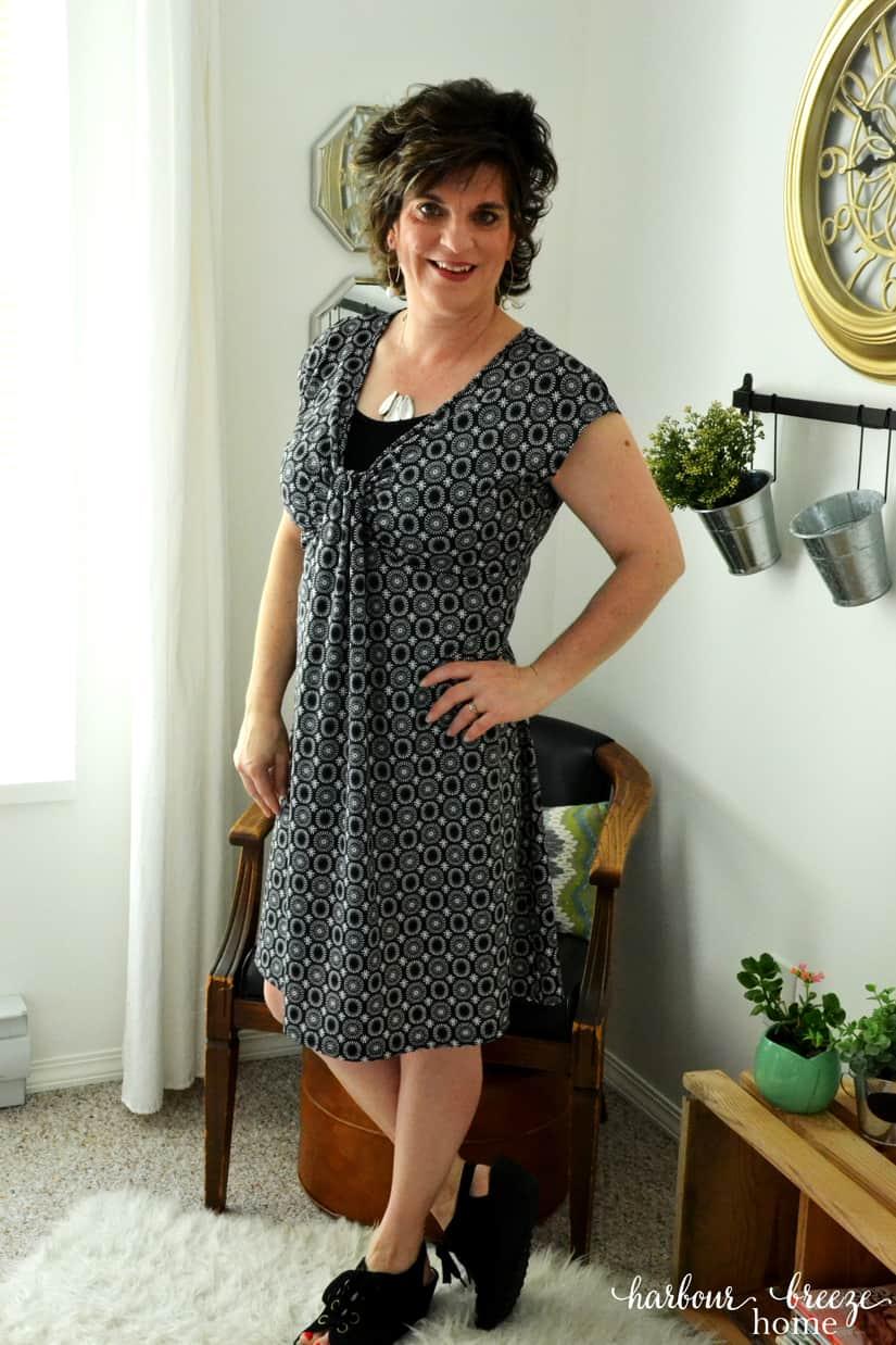 thrift store style : Swing Dress
