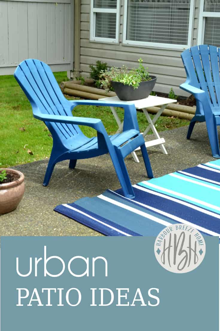 Urban patio styling