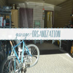 Garage Organization Progress