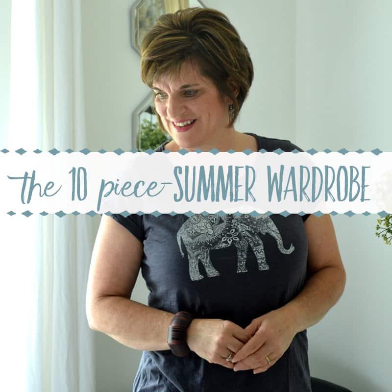The 10 Item Summer Wardrobe