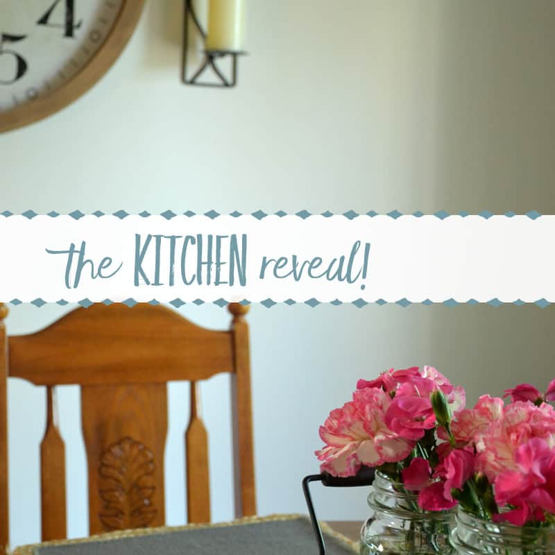 My Sister's Kitchen Makeover Reveal
