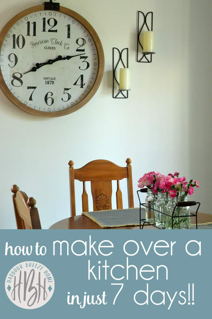 how to make over a kitchen in 7 days