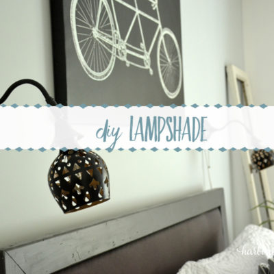 DIY Lampshade for Ikea's Arstid Wall Lamp