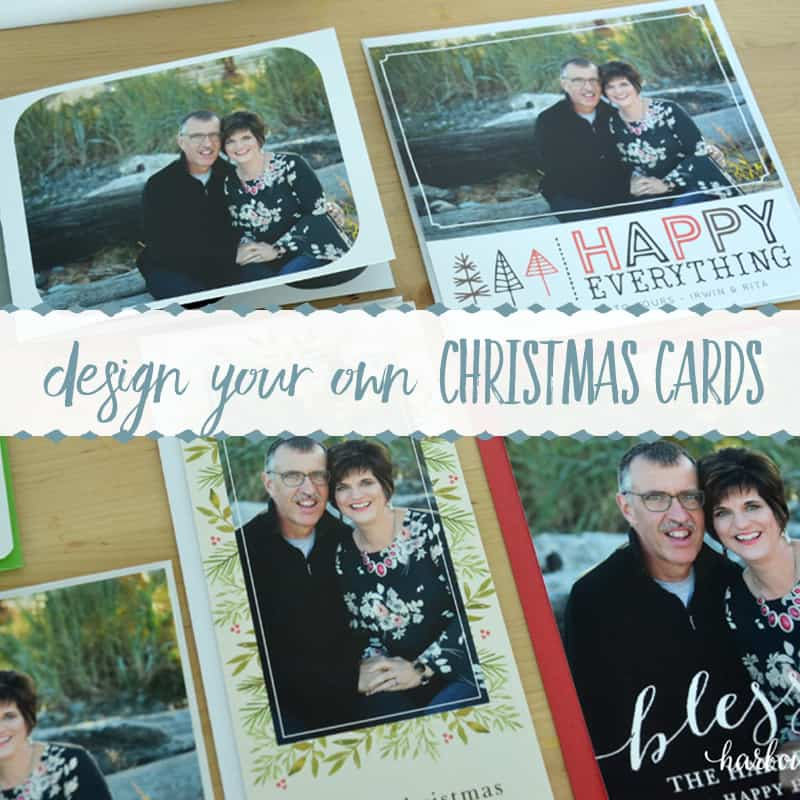 Design Your Own Christmas Cards with Basic Invite