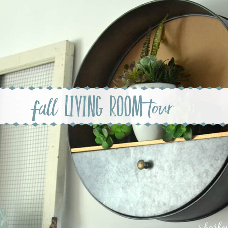 The Townhouse Fall Living Room Tour