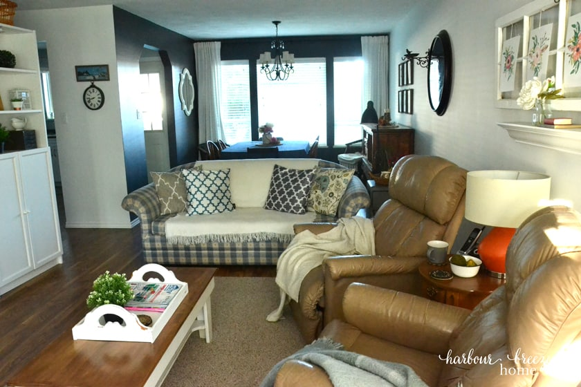 Townhouse Fall Living Room Tour