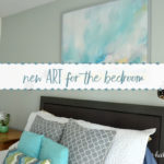 How I Used Photoshop to Choose the Perfect Minted Art for our Bedroom